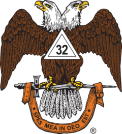 32° Scottish Rite Eagle